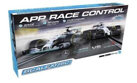 F1 Scalextric set.