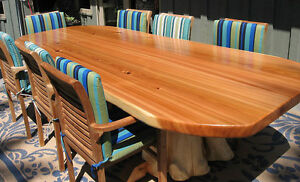 Quality hand made real wood tables lcoally crafted Comox / Courtenay / Cumberland Comox Valley Area image 8