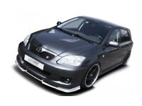 Toyota Corolla full catback exhaust system