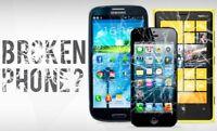 Broken smartphone repair - 1-855-275-7760 (Montreal)