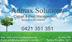 Admax Solutions - Carpet & Pest Management (from $60) Mermaid Beach Gold Coast City Preview