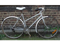 Ladies Vintage CITY RACING dutch bike CYRIL GUIMARD size frame 20 serviced ready to go - Welcome