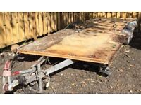 Twin axle caravan chassis ideal for recovery trailer or transporter