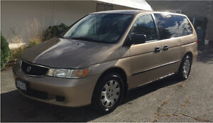 2001 Honda Odyssey Van Great condition Run Awesome family Van