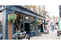 Head Chef Position Available with Live In Accomodation at The Flask in Hampstead