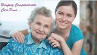 COMPASSIONATE HOME CARE FOR YOUR LOVED ONES! NOW IN OAKVILLE!