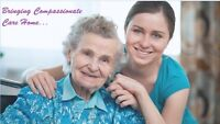 COMPASSIONATE HOME CARE FOR YOUR LOVED ONES!