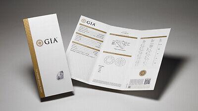 1.50 TCW Natural Cushion Cut Pave Set  Diamond Engagement Ring - GIA Certified 1