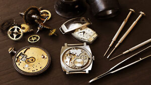 Services horlogers / Watch repair services