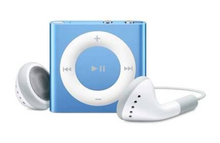 Apple iPod Shuffle 4th Generation (Blue)