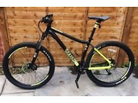 Mountain bike VOODOO BANTU Alu frame - Hydraulic brakes - Dual disc - Fantastic condition - 285 ONO