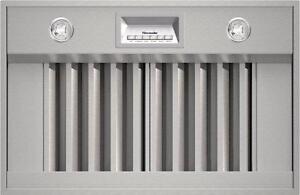 Hotte de ventilation encastrée de 36'', acier inoxydable, Thermador, Showroom