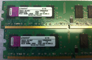 2GB DDR2 800 KINGSTON MEMORY FOR PC $17.50 West Island Greater Montréal image 7