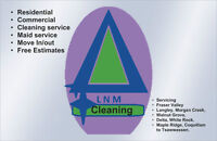 Deal Coupon  LNM Cleaning, Bonded, WCB and Insured, Residential