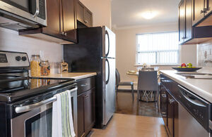 Scenic 1 & 2 BDRM apartment for rent, renovated kitchen!