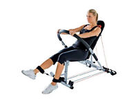 Pro Power AB Trainer Pro - Multi Gym For Core/Arms/Back/Legs/Shoulder/Chest Exercises.
