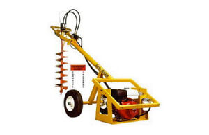 hydraulic post hole auger for rent 63-353-2626 90.00 a day