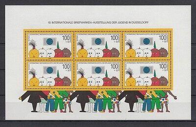 Blockausgabe  Kinder Düsseldorf Ausstellung   1990  postfrisch **