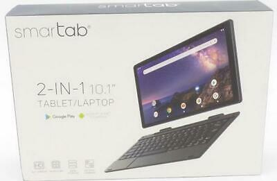 "Smartab ST1020BK 10.1"" 2-in-1 Wi-Fi Tablet w/ Keyboard"