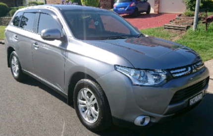 Mitsubishi Outlander 2013 Aspire ZJ 4x4 Diesel Automatic Penrith Penrith Area Preview