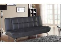 Sofa Bed available in Black or Red