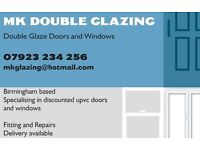 MK Double Glazing New Showroom opening Tuesday 25th October in Hall Green Birmingham