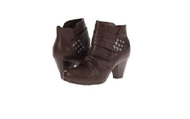 Women's Patrizia by Spring Step Ankle Boot- Romie Brown- EUR 36 37 38 39 40 41