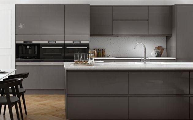 Wickes Sofia Graphite Kitchen Units In Hinckley