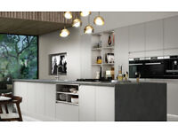Wickes Camden Dove kitchen units and fittings