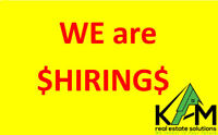 $$ We are HIRING $$