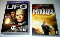 DVD Coffret séries TV Science-fic. UFO S-1- 40$/ Invaders 22$