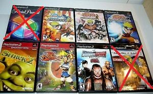 PS2: Narruto, Shrek, Narruto Open Season Dragonball 5$-14$