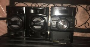 Sony speakers/deck
