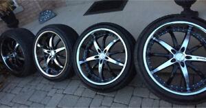 22 inch Rennen wheels