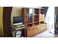 Merdew Shiny Wooden Sideboard with many features!