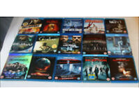Collection of 15 x Bluray Films. Excellent Condition.