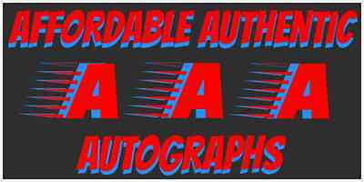 Affordable Authentic Autographs
