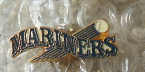 Seattle Mariners (MLB) baseball pin (vintage logo)