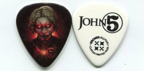 ROB ZOMBIE 2015 Tour Guitar Pick JOHN 5 custom concert stage MARILYN MANSON #16