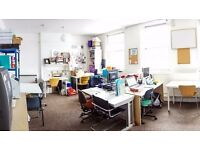 Shared Work Space, Daily Desks, East London £9 per day! Fast WIFI and Tea & Coffee Included