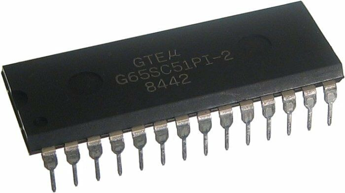65C51 G65SC51PI-2 R65C51P2 Asynchronous Communications Interface Adapter