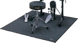 Tapis anti-bruit /absorbe les coups pour drum électronique ou ac