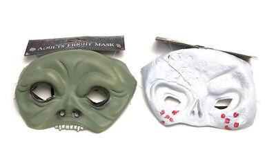 Frightening Masks (Halloween Scary Skeleton Zombie Mask Horror Frightening Face Mask Fancy)