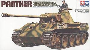 Tamiya 35065 1/35 Medium Tank Model Kit German Panzerkampfwagen V Panther Ausf.A