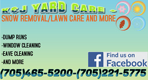K&J Yard Care + Local Snow Removal & Lawn Care + more!