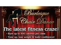 Burlesque Chair Dance Classes - Stirling & Tullibody