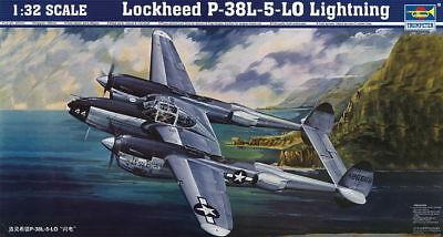 Trumpeter 9362227 Lockheed P-38L-5-LO Lightning 1:32 Kampfflugzeug Modellbausatz