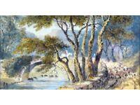 JOSEPH MURRAY INCE (1806-1859) ORIGINAL WATERCOLOUR PAINTING DATED 1849