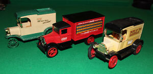 Ertl Coca-Cola /Co-Op / Home Hardware Delivery Truck Banks