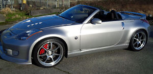 2004 Nissan 350Z twin turbo custom Convertible